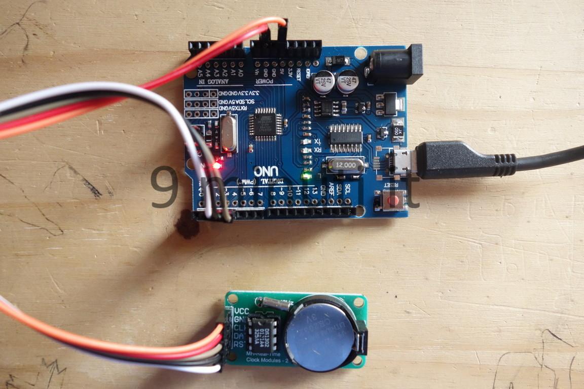 Arduino e il modulo MH Real Time Clock Modules 2 DS1302