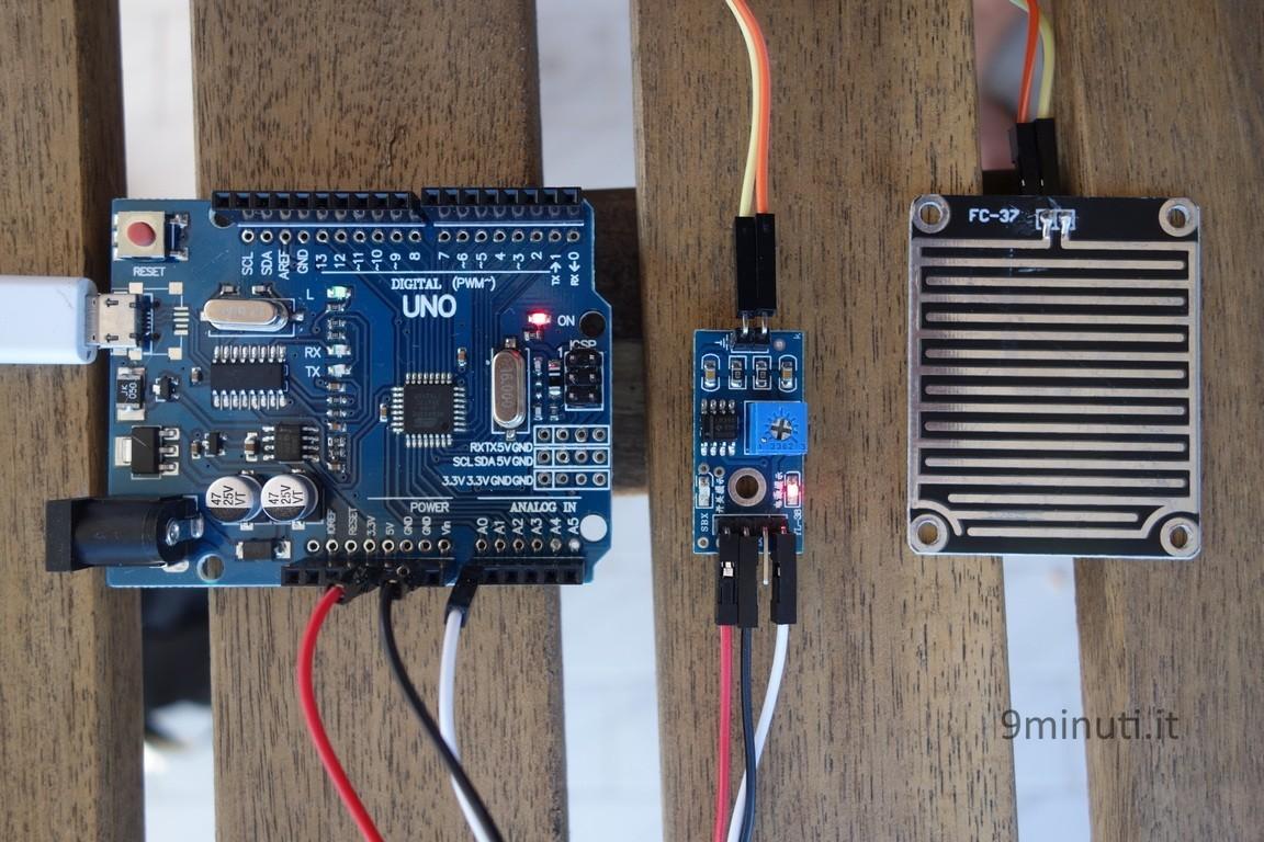 Arduino e il sensore FC-37