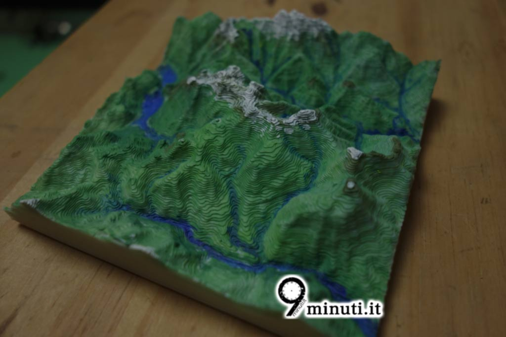 3d printed mountains