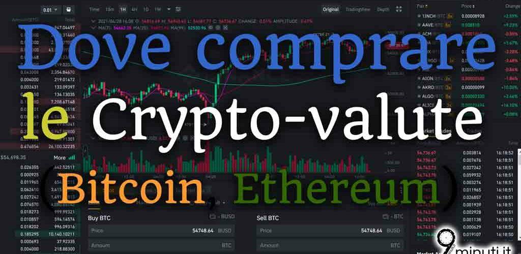 i siti di commercio crypto